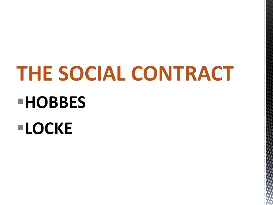 hobbes and the social contract pdf