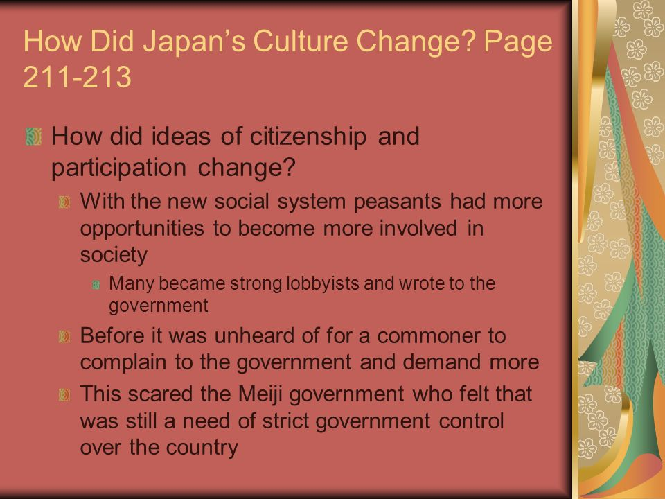matsushita japans culture change Free essay: panasonic and japan's changing culture established in 1920, the  consumer electronics giant panasonic was at the forefront of.
