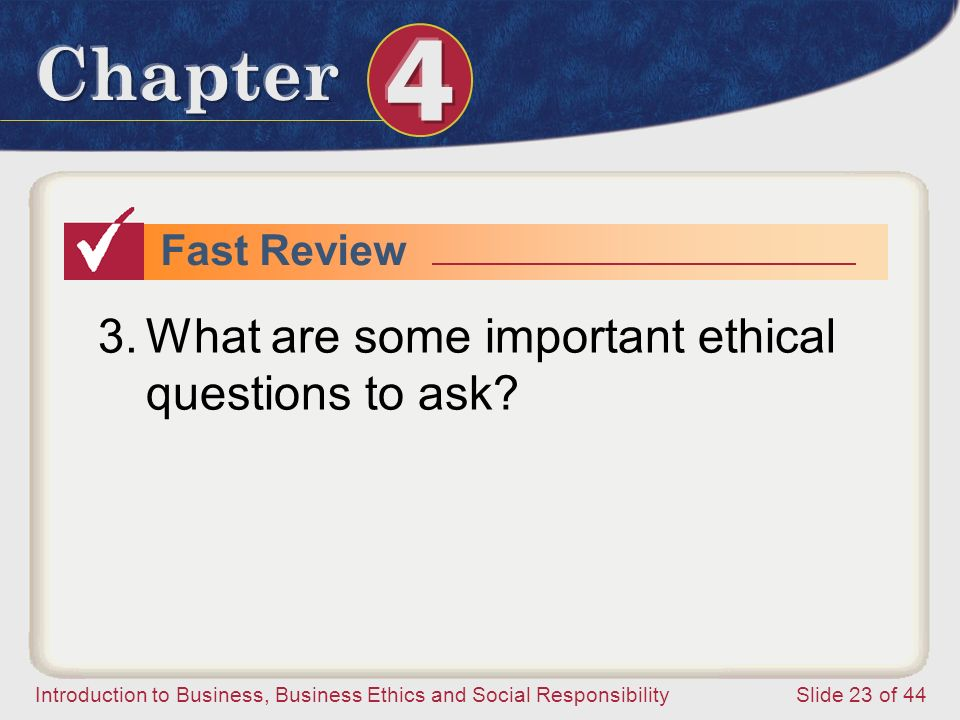 What are some important ethical questions to ask