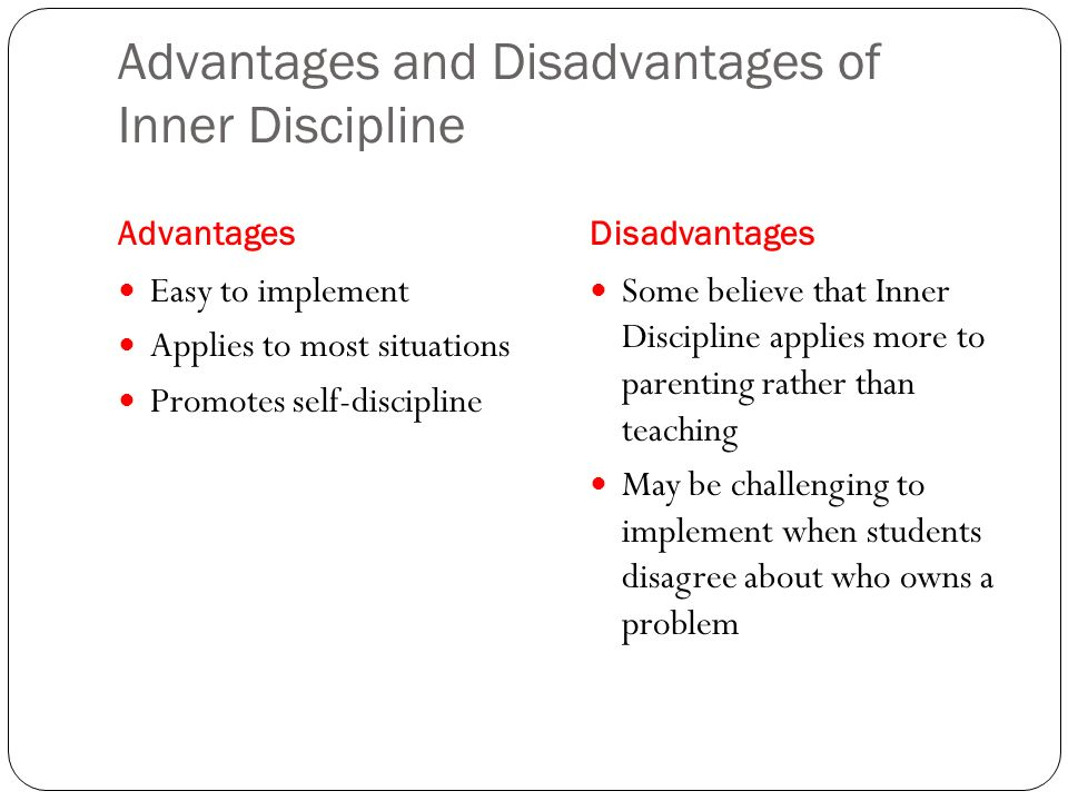 The Disadvantages of Positive Discipline in Business