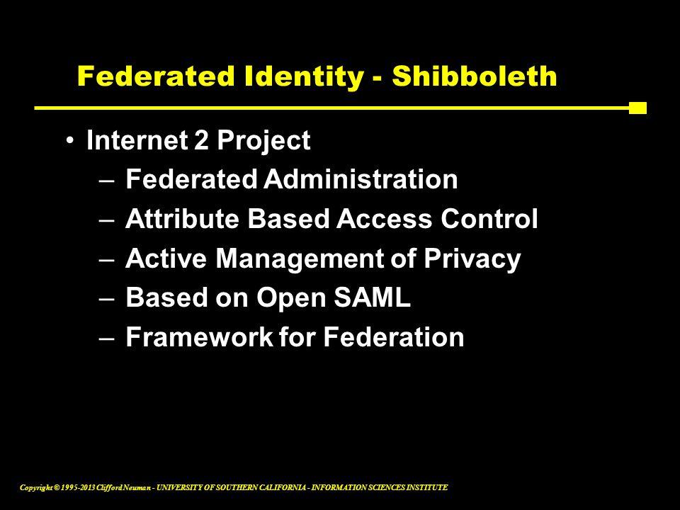 Federated Identity - Shibboleth