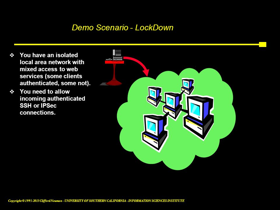 Demo Scenario - LockDown