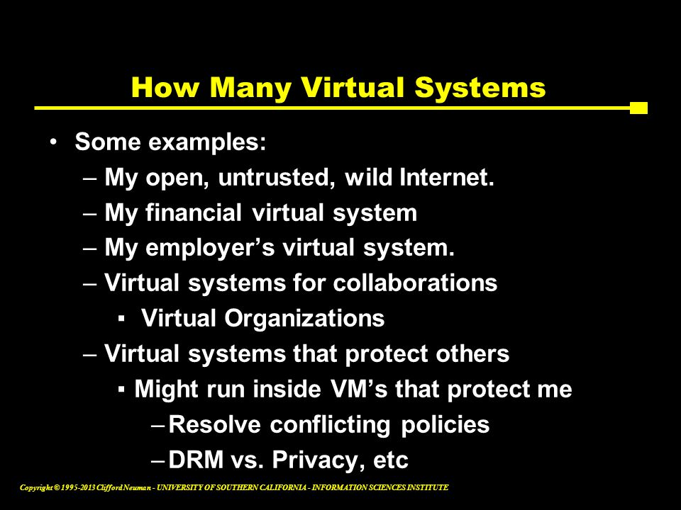 How Many Virtual Systems