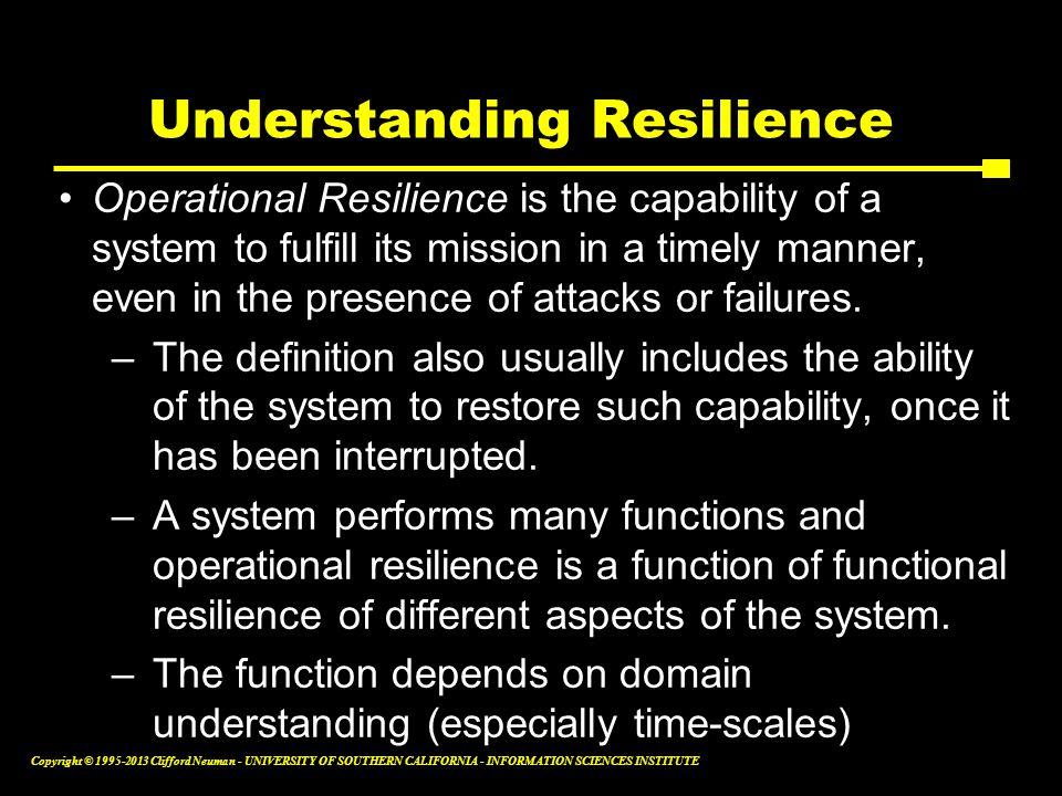 Understanding Resilience