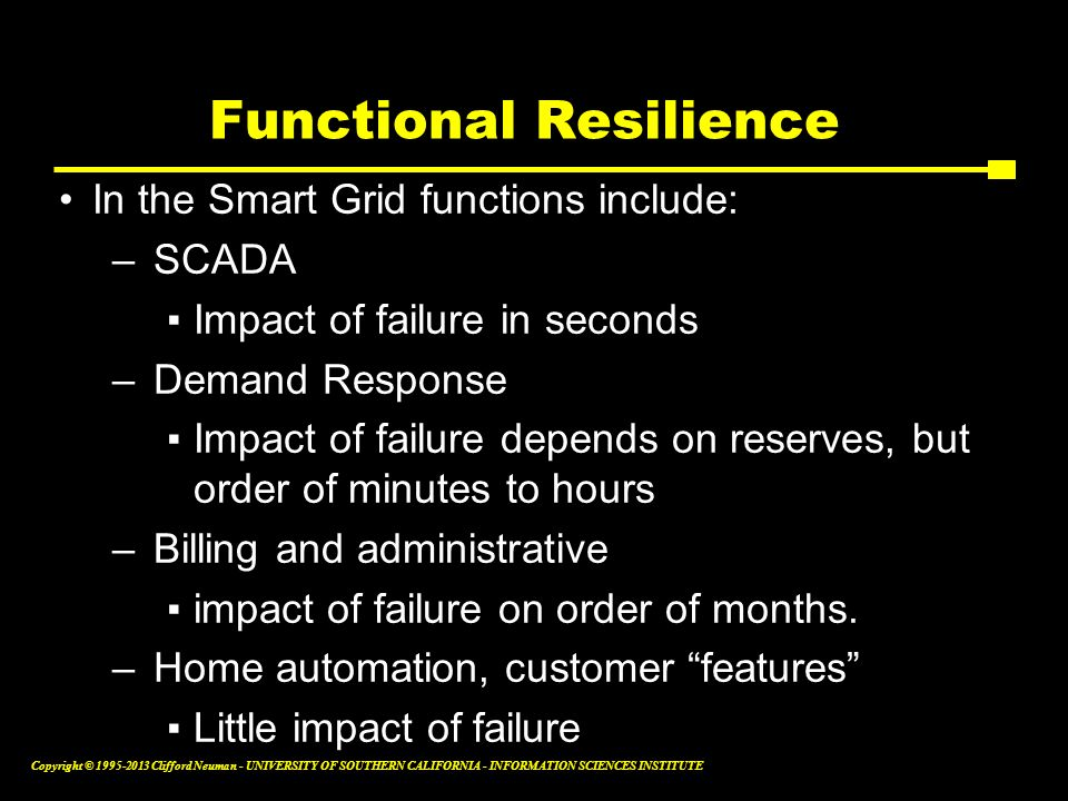 Functional Resilience