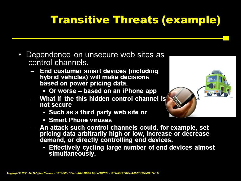 Transitive Threats (example)