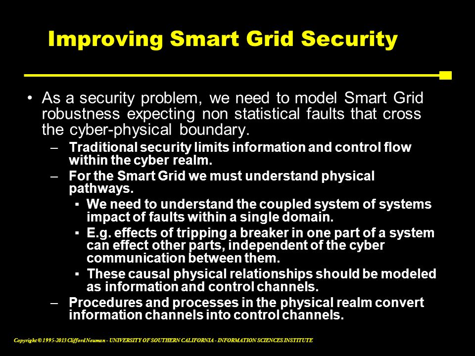 Improving Smart Grid Security