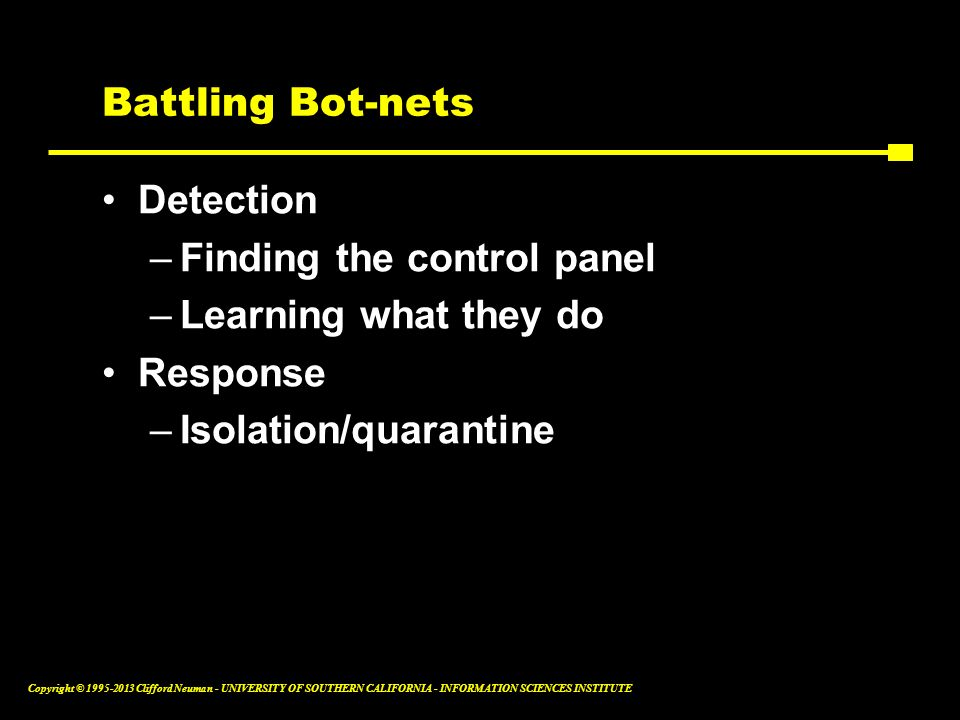 Battling Bot-nets Detection. Finding the control panel.