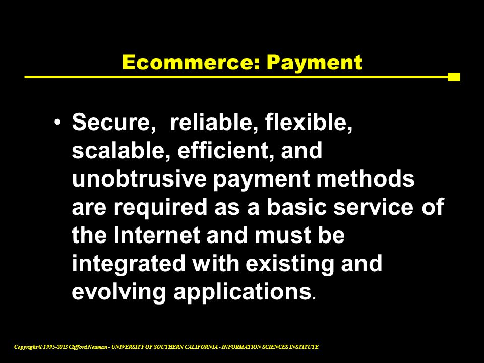 Ecommerce: Payment