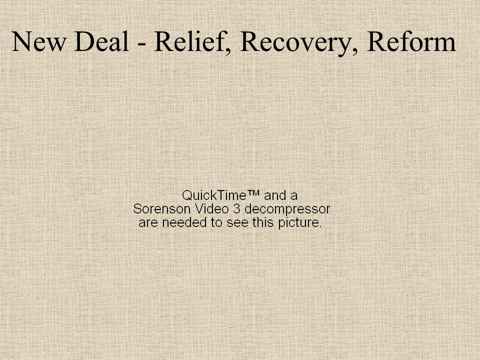 relief recovery and reform essay In an essay published in 1933, john maynard keynes observed this trend relief, recovery, and reform the new deal had three components: direct relief, economic recovery, and financial reform these were also called the 'three rs.