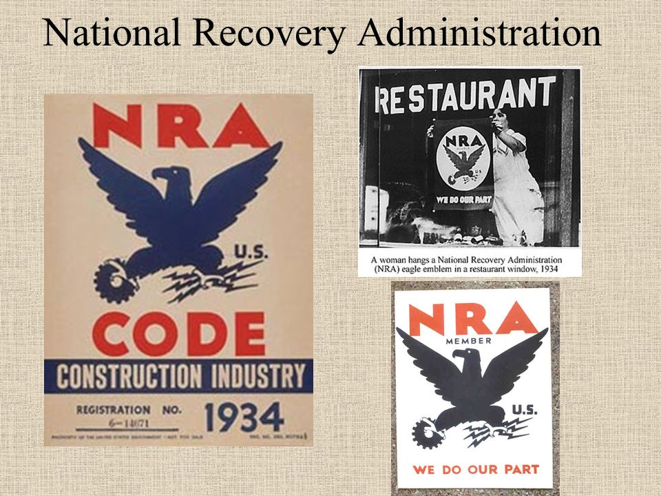 National Industrial Recovery Act of 1933