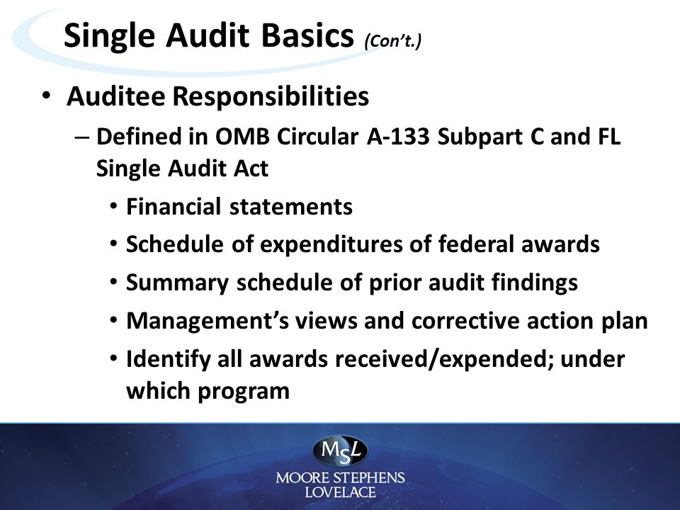 single audit findings Department of finance a udit m emo subject: corrective action plans for single audit findings and reporting of expenditures of federal awards.