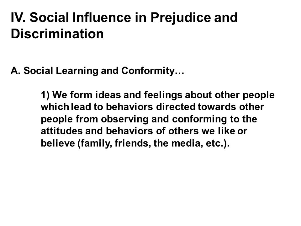 prejudice and its effect on children Children, race and racism: how race awareness develops by louise derman-sparks, carol tanaka higa, bill sparks  task is learning to struggle against its impact for white children, it is learning to be anti-racist  prejudice toward other groups nor does it imply that white children do not.