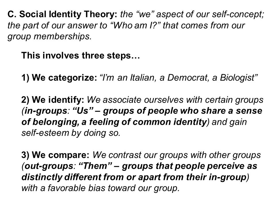 essays on belonging to a group