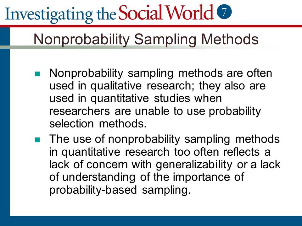 sampling method in research