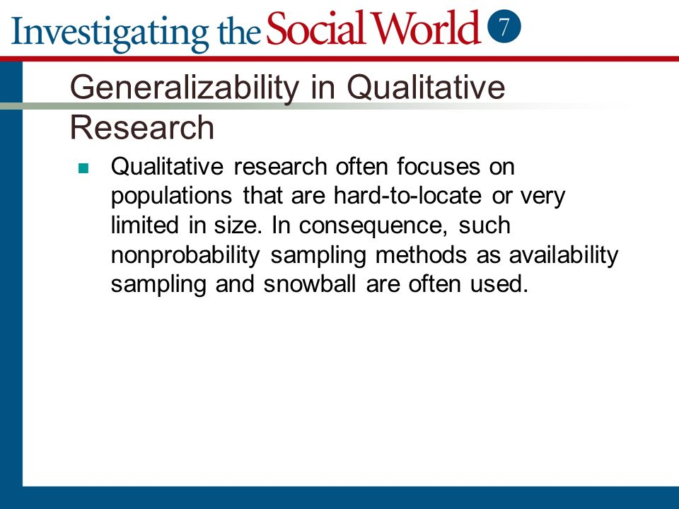 snowball sampling qualitative research Snowball sampling is a non-probability sampling technique that is used by researchers to identify potential subjects in the research council of norway.