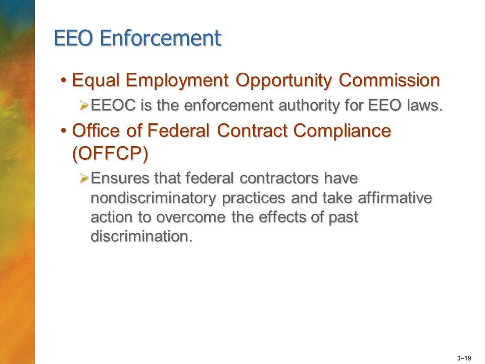 an analysis of equal employment opportunity commission eeoc The dodd-frank wall street reform and consumer protection act (act),  eeoc/ govt-1 equal employment opportunity in the federal government  complaints , the complainants, the witnesses, and other information necessary to analyze.