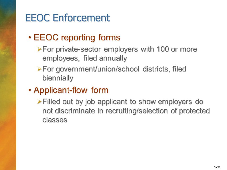 Eeo Concepts Discrimination Protected Class - Ppt Download