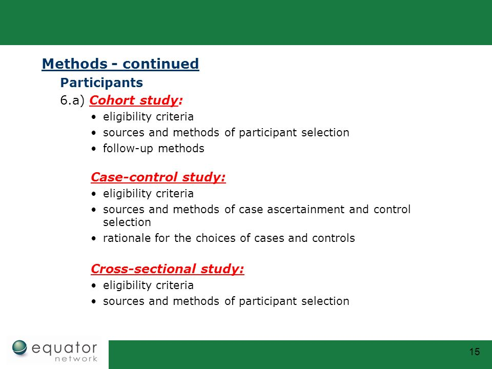 case control studies in epidemiology