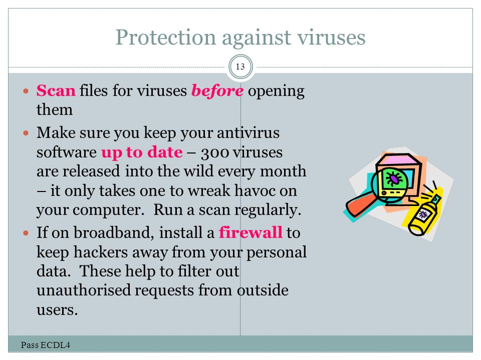 Protecting againist macro viruses