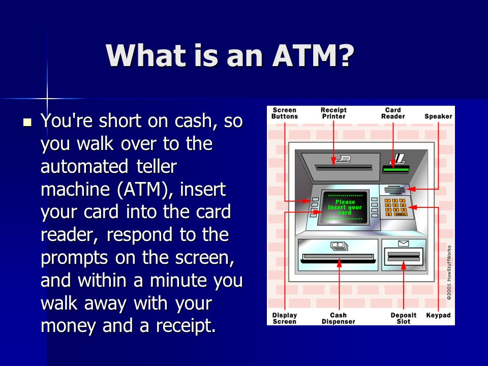 What is an ATM