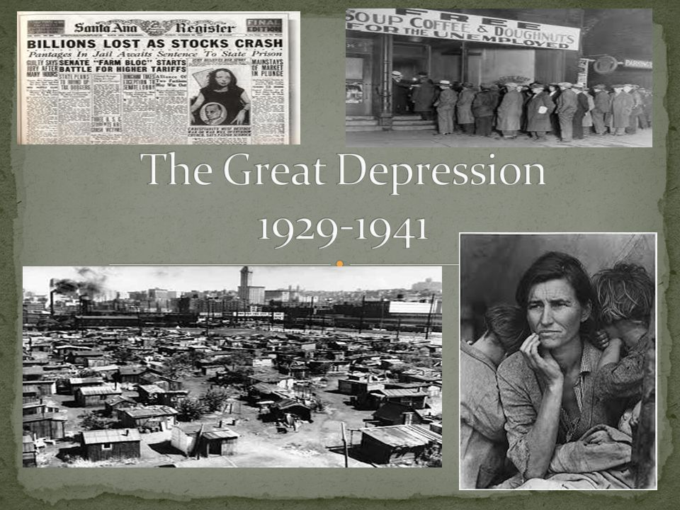 The Great Depression Ppt Video Online Download - The-great-depression-1929