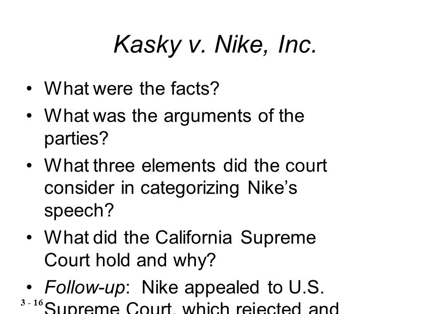 legal forms of the business at nike inc Nike, inc (nke) ownership summary provides a high level overview of up-to-date  institutional  insider trades summary as filed in the forms 3 and 4 filings.