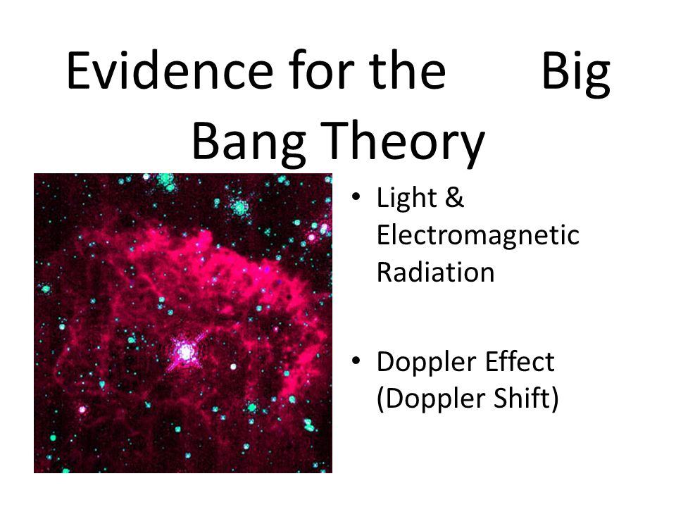 an essay on the big bang effect An introduction to the big bang effect and the creation of the universe  more essays like this: big bang effect, big bang theory, creation of  sign up to view .