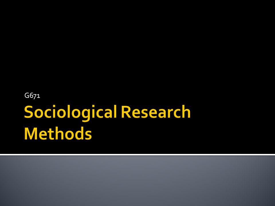 research method in sociology Most students know the scientific method other fields use similar tools this sample essay explores sociology and anthropology research methods.