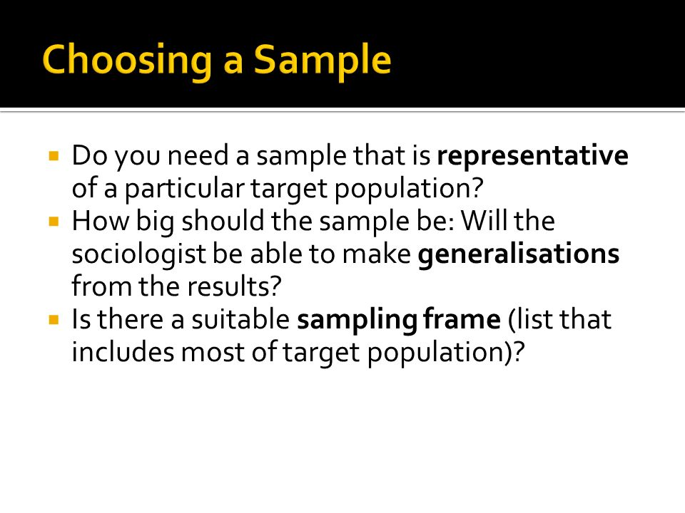 Sociological Research Methods - ppt download
