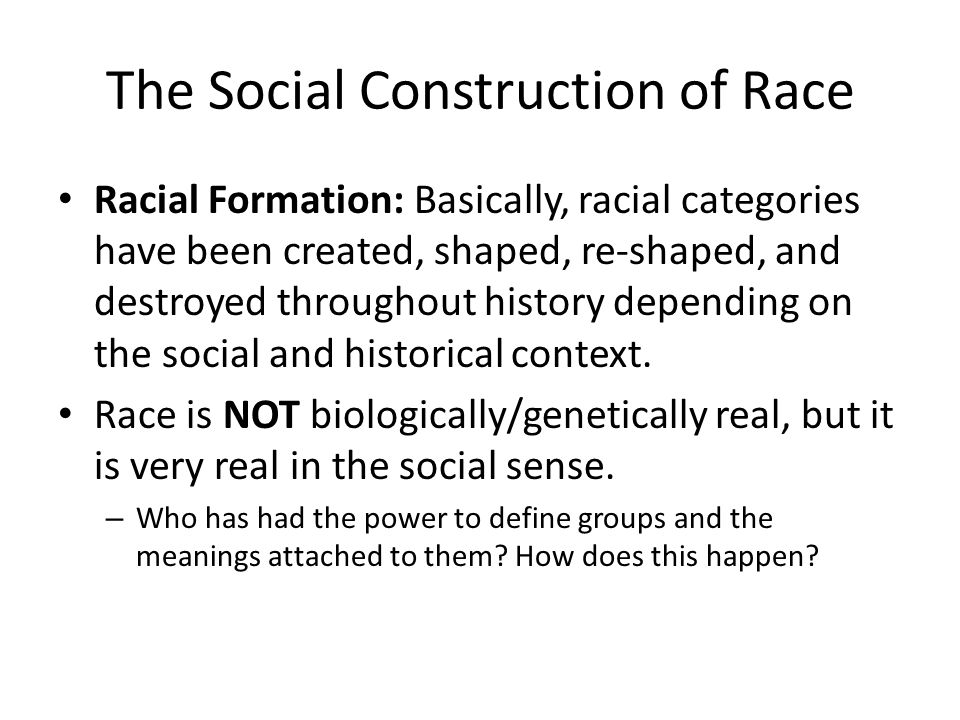 racial formation categories essay Essays - largest database of quality sample essays and research papers on omi and winant racial formation.