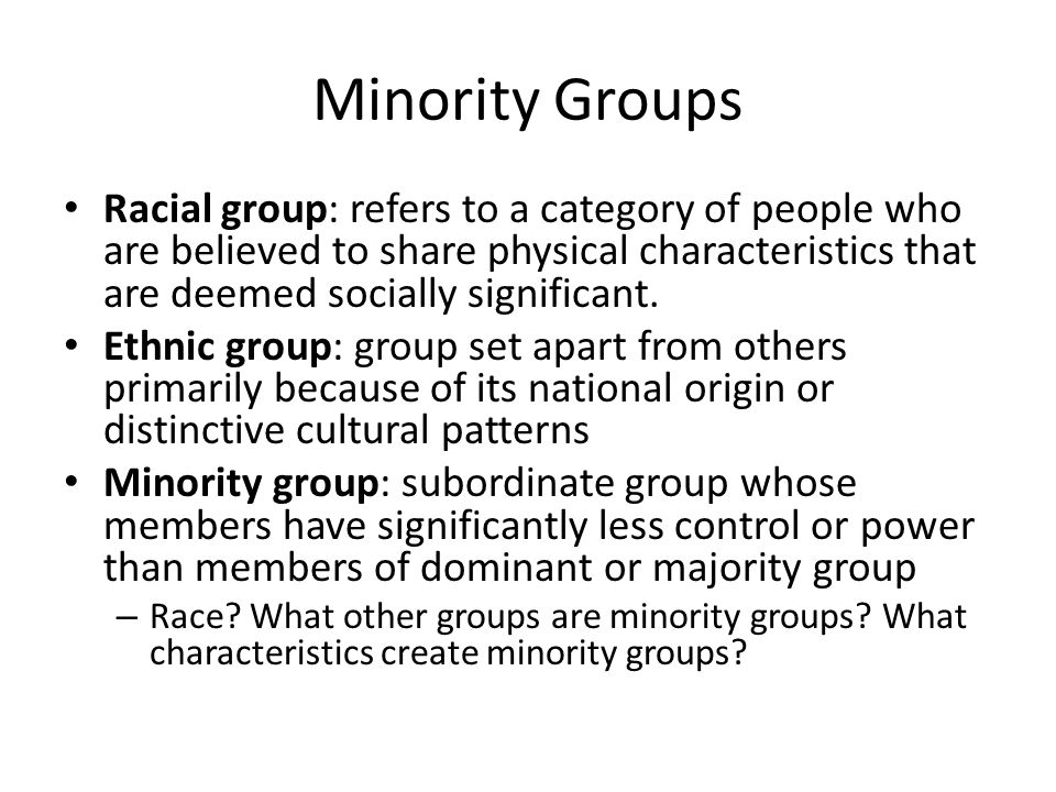 the racial ethnic cultural gender or other social categories or groups Leisure constraints relevant to racially and ethnically diverse groups this is an excerpt from race, ethnicity, and leisure by monika stodolska, kimberly shinew, myron floyd, and gordon walker.