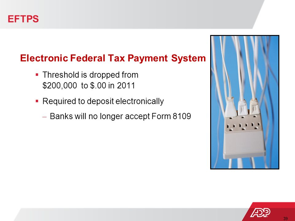 Image Result For Electronic Federal Tax Payment System