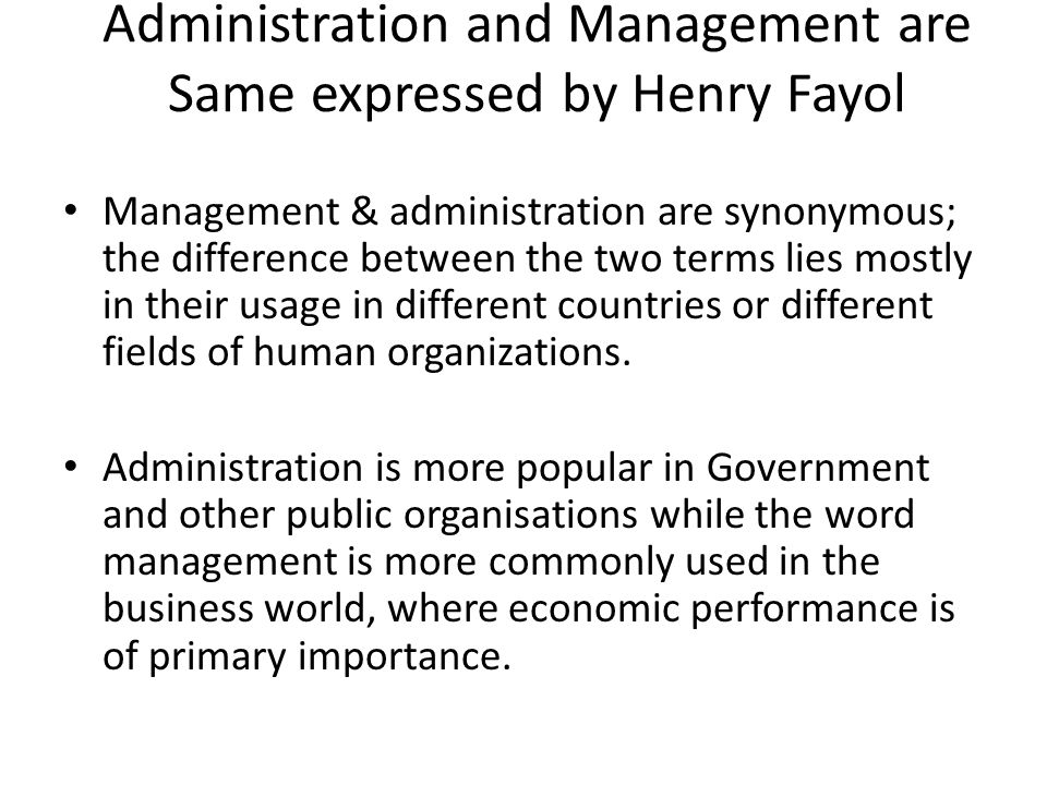 comparison between taylor and fayol Comparison between taylor and fayol approach for principles of management  for class 12 business studies contains usefull content for the.