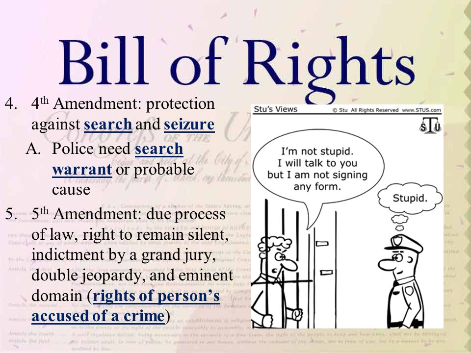 Search and Seizure and The Fourth Amendment