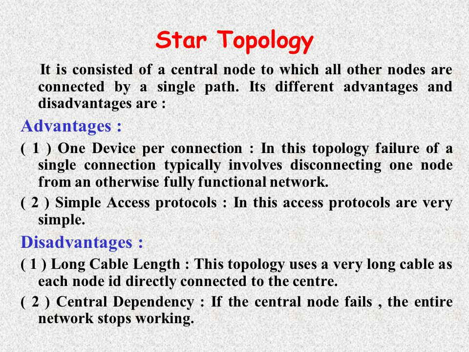 Standard network topologies advantages and disadvantages essay standard network topologies advantages and disadvantages network topology definition advantages and disadvantages bus based network all publicscrutiny Image collections