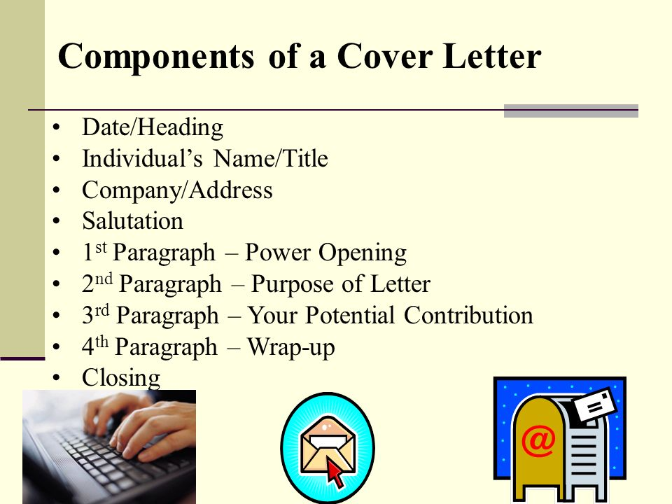 cover letter for moving to a new city - components of a cover letter 28 images cover letter