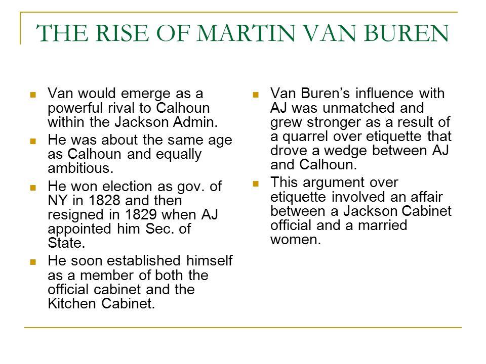 Kitchen Cabinet Martin Van Buren