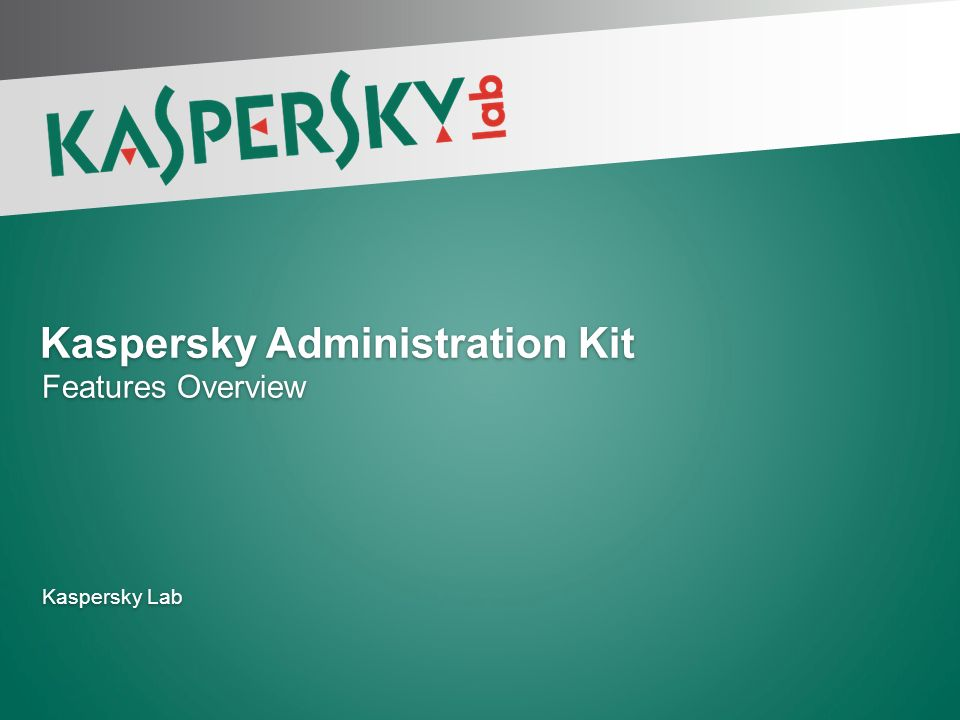 Kaspersky administration kit implementation 8. 0 software download.