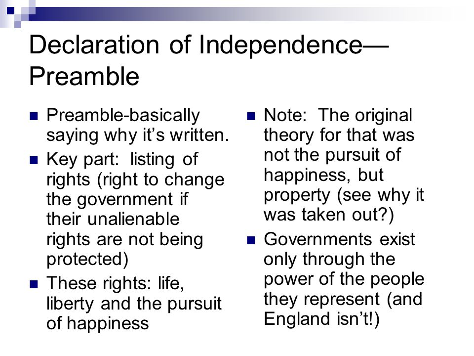 ap declaration of independence Student activity sheet: investigating the declaration of independence initial examination 1 write down key points and things you notice about the document.