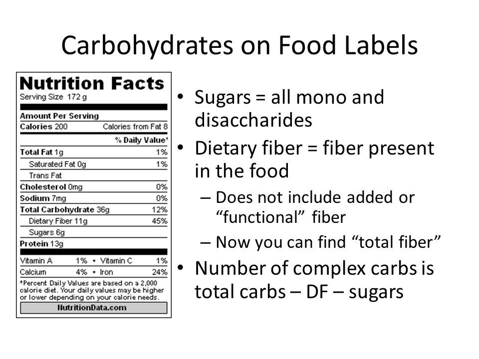 dietary fiber label - photo #44