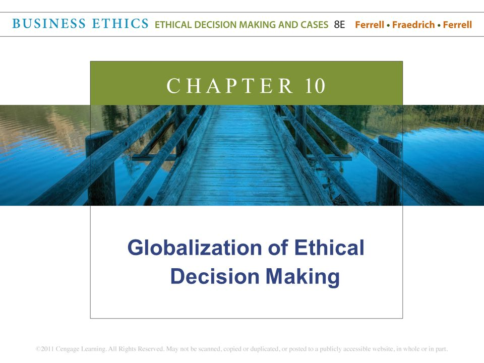 ethical decision making and ethical leadership essay Chapter 7 ethical decision making and behavior——237 consequences of each potential strategy empathy and perspective skills are.