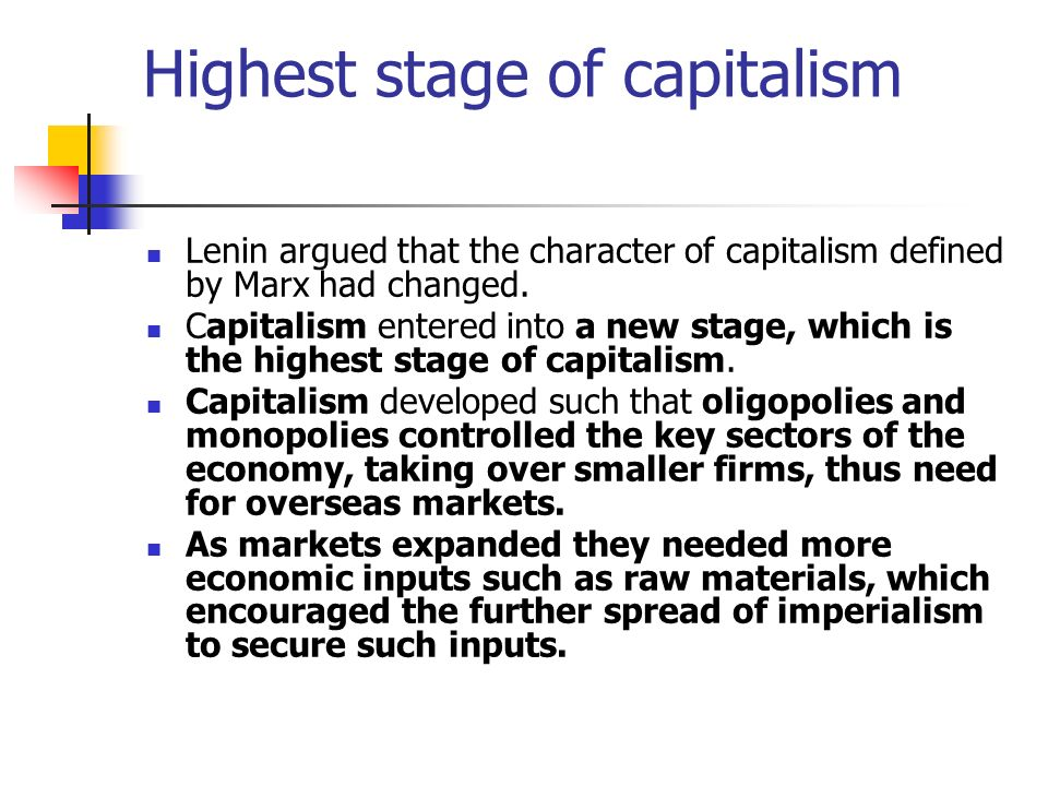 the basic meaning and importance of capitalism Capitalism is an economic system where things meaning something of value investing is important to capitalism.