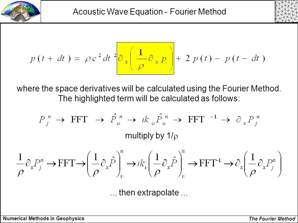 acoustic equation paper term wave Visco-acoustic wave equation in the time domain for isotropic media this paper extends the visco-acoustic wave equation for anisotropic case, and develops visco-acoustic reverse time compensating viscoacoustic effects in anisotropic reverse-time migration.