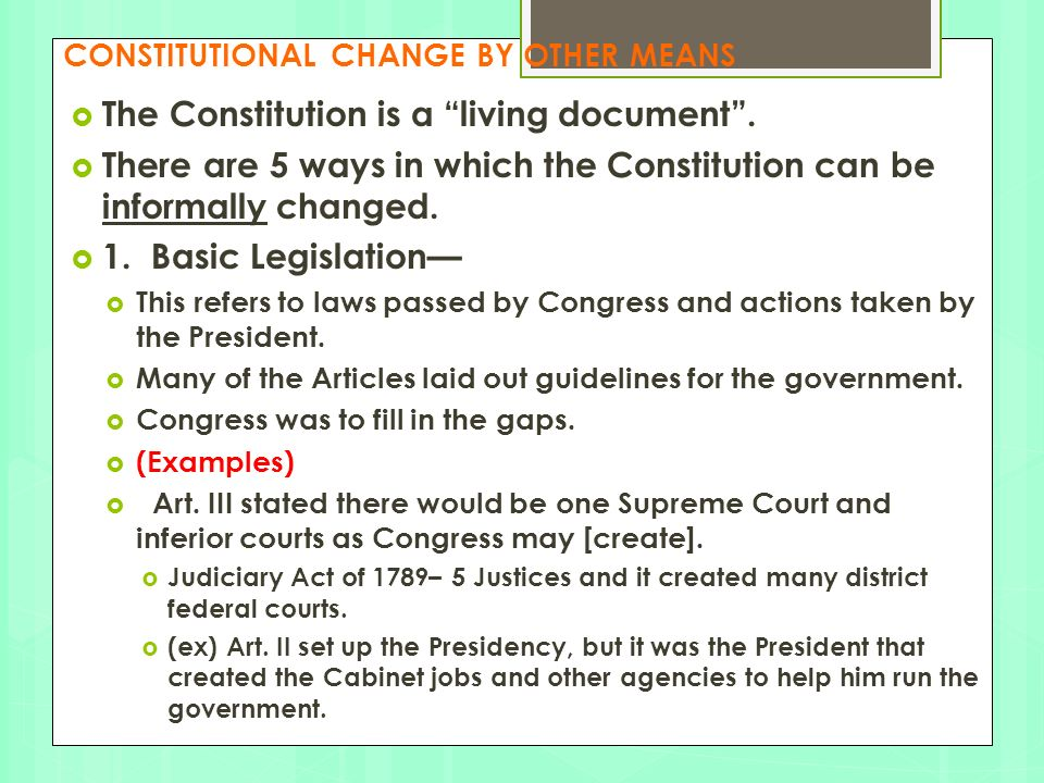 THE ARTICLES AND THE AMENDMENTS - ppt video online download
