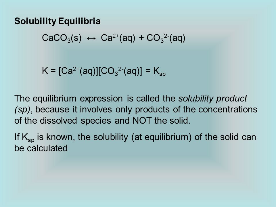 write an expression for ksp for the dissolution of caco3 ionic or covalent
