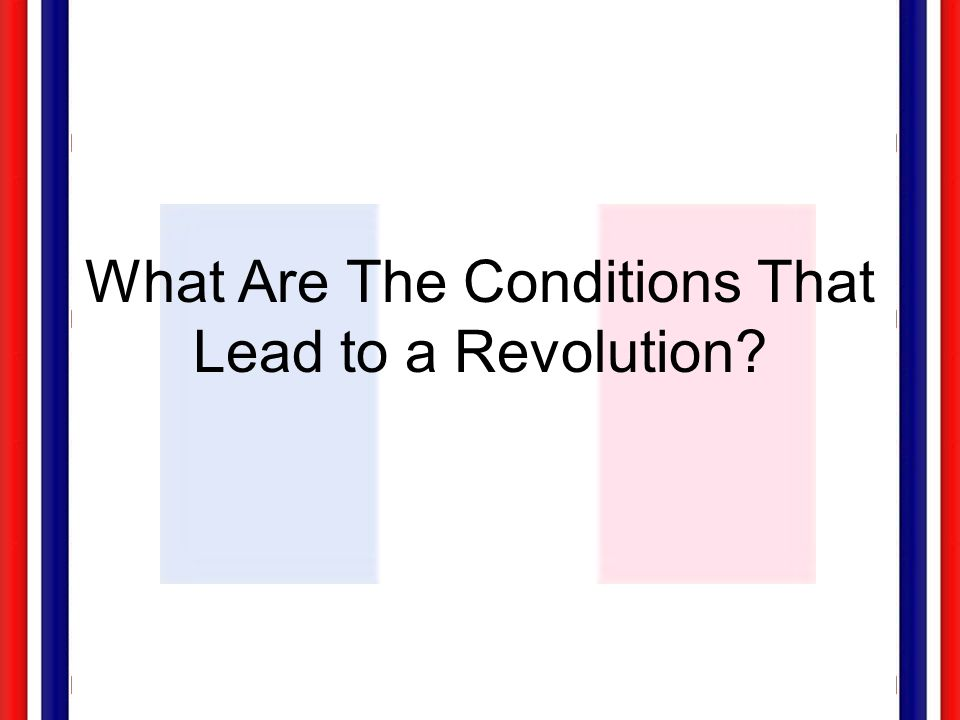 leads to the french revolution No, it's not actually the french revolution: les misérables and history by susanne alleyn posted by admin on jan 7, 2013 in 18th century france,.