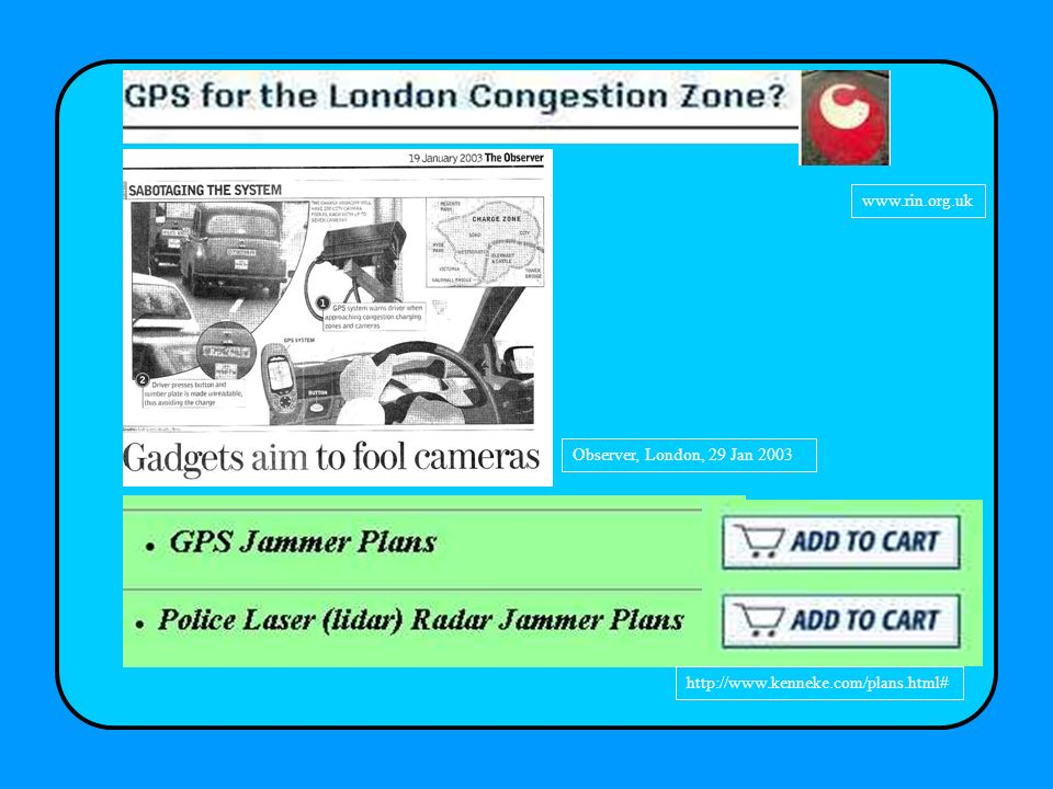 www.rin.org.uk Observer, London, 29 Jan 2003 http://www.kenneke.com/plans.html#