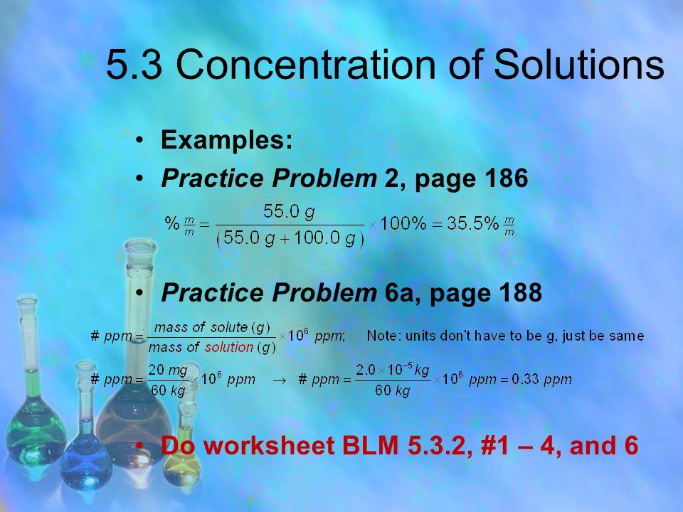 PowerPoint Presentation by R Schultz ppt download – Parts Per Million Worksheet