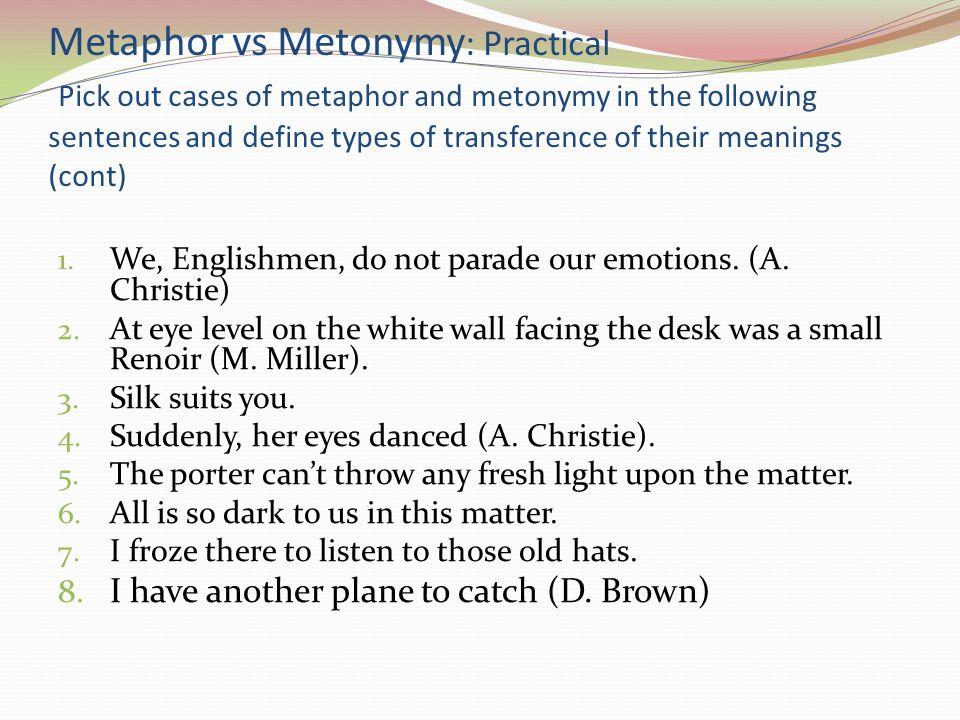 Metaphor Metonymy And Vioce Coursework Academic Writing Service